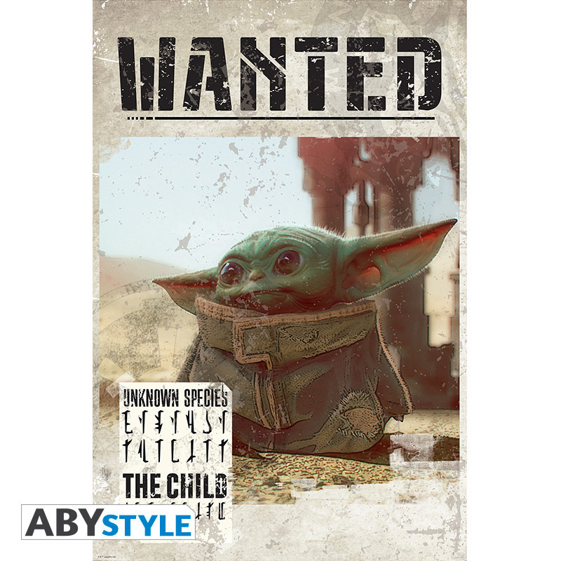 The Mandalorian Wanted poster by ABYstyle. Photo © Courtesy ABYstyle. Handout via The Gourmet Gazette